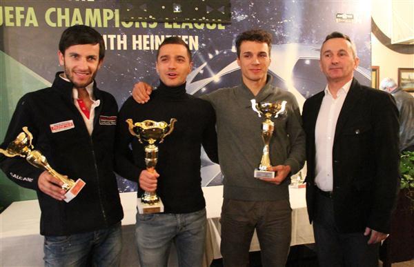 Ivan Stević i Aleksa Marić najbolji u Ligama Srbije u 2013