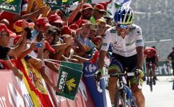 Osveta Čavesa na kraju šeste etape 70. Vuelte