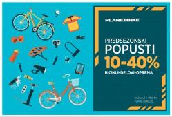Predsezonski popusti u Planet Bike-u