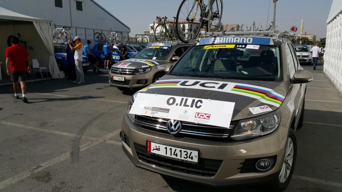 svetsko prvenstvo katar 2016 biciklizam pratnja