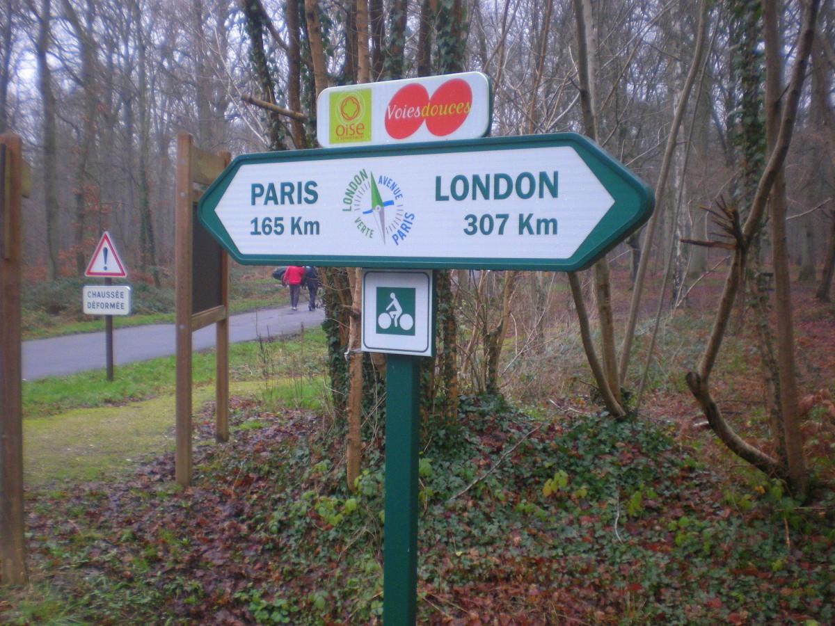 Zelena ruta od Pariza do Londona / Bez auto-puta i saobraćaja